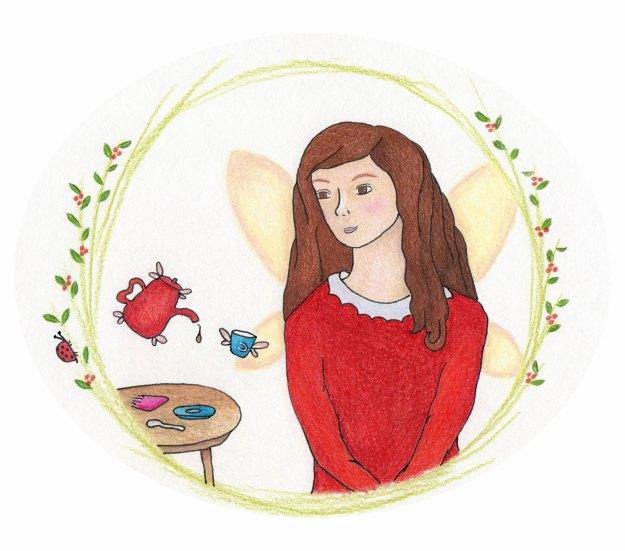 fairy illustration print