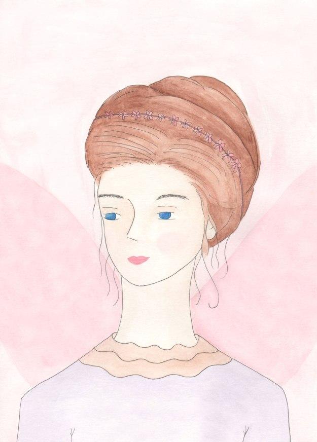 fairy queen watercolor