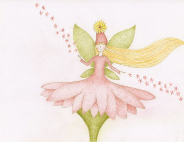 fairy flower drawing